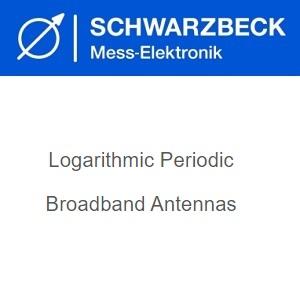 Schwarzbeck Логаритмични периодични широколентови антени
