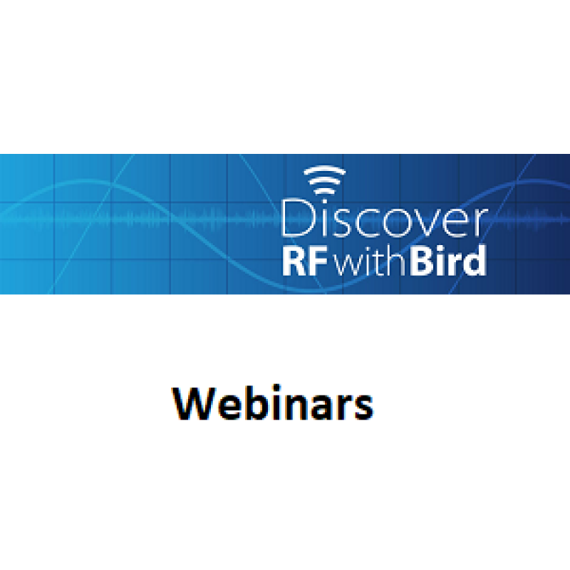 Discover RF with Bird Webinars