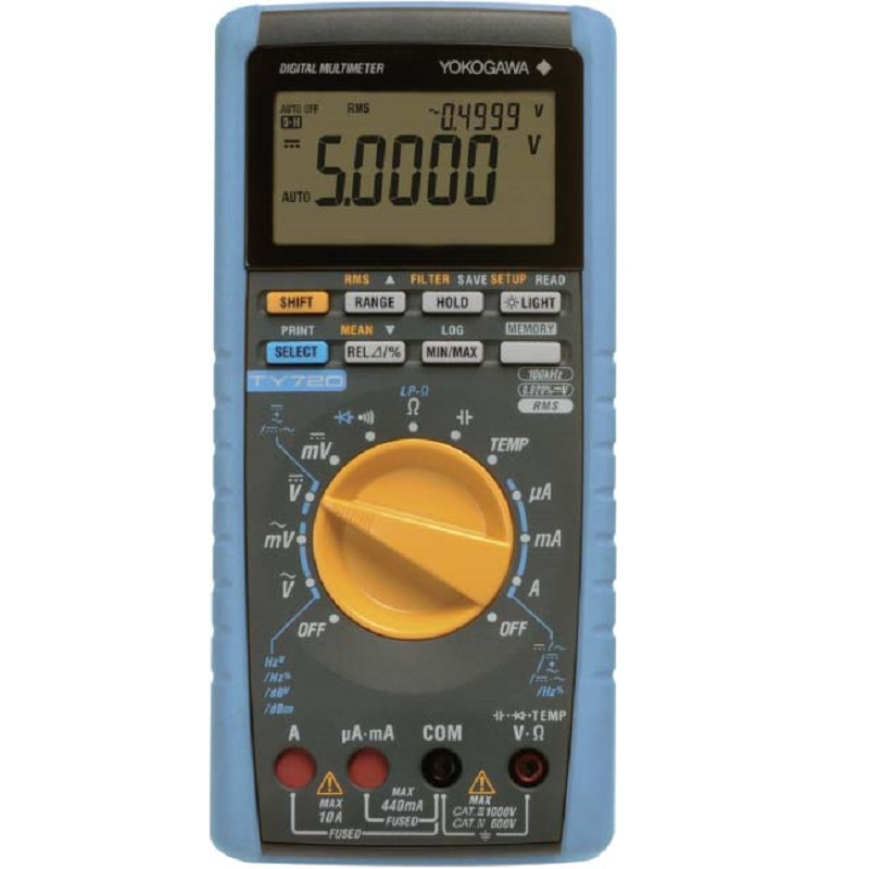 Yokogawa PORTABLE AND HANDHELD DIGITAL MULTIMETERS