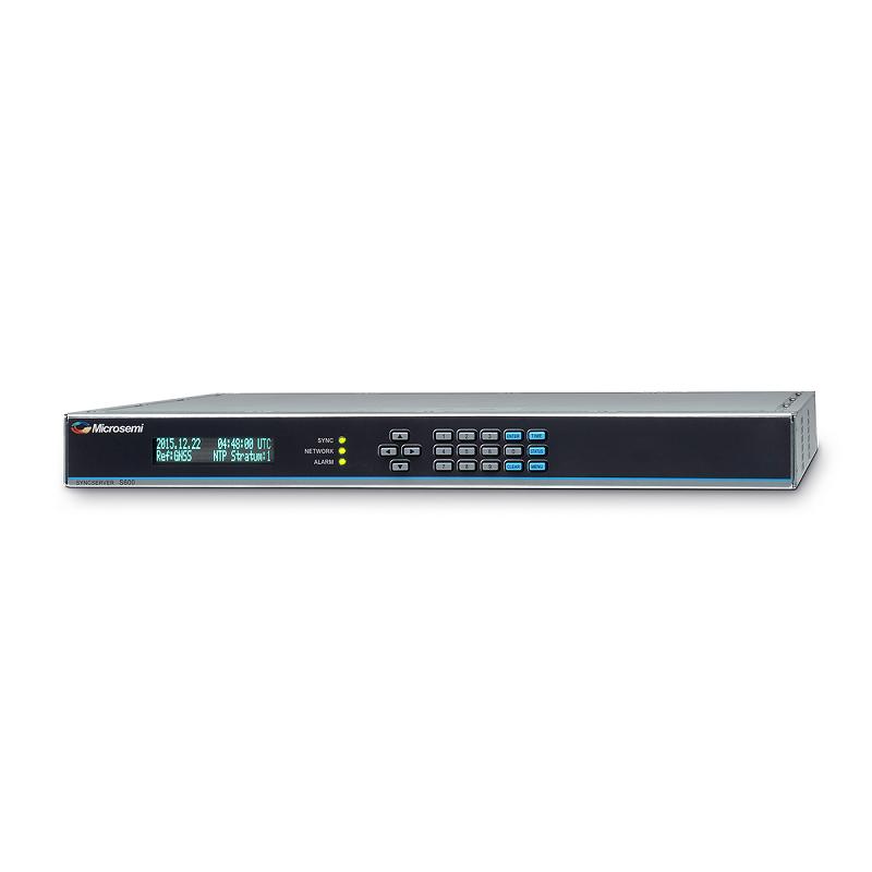Microsemi Stratum 1 Network Time Server - SyncServer S600 (NTP)