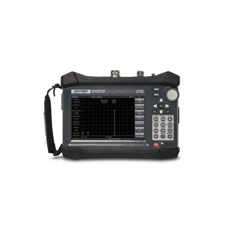 Анализатор на кабели и антени E7000L (2 MHz до 4.4 GHz)