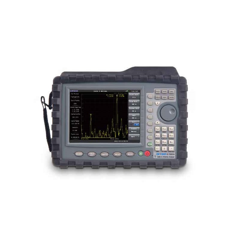 Deviser E7000A and E7000A-SA RF Analyzer: Cable & Spectrum Analysis