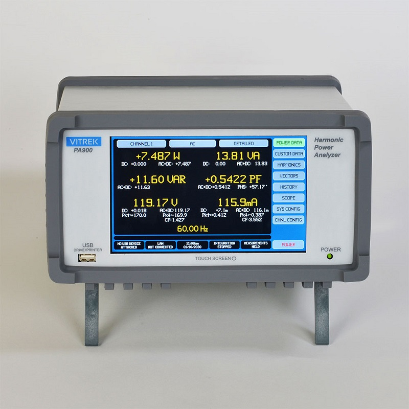 Vitrek PA900 Precision Multi-Channel Harmonic Power Analyzer