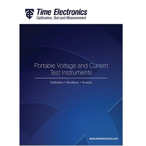 Time Electronics Portable Voltage and Current Instruments