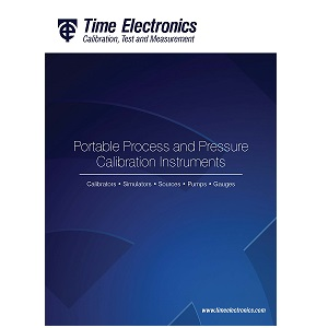 Time Electronics Portable Process & Pressure Instruments