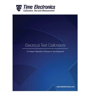 Time Electronics Electrical Test Calibrators
