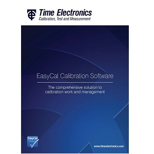 Time Electronics EasyCal Calibration Software