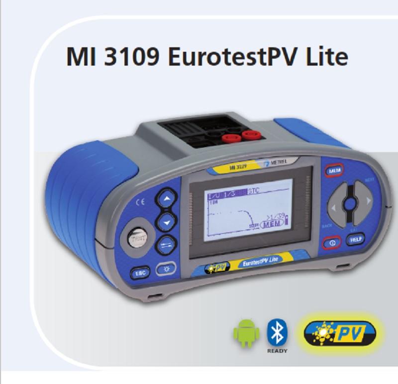 MI 3109 EUROTEST PV LITE