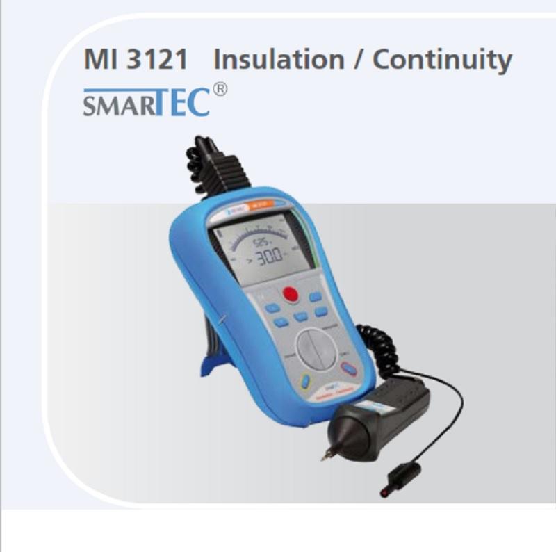 Metrel MI 3121 SMARTEC INSULATION / CONTINUITY