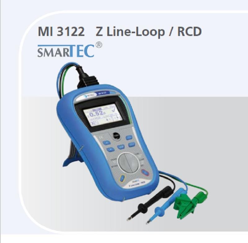 Metrel MI 3122 SMARTEC Z LINE-LOOP / RCD