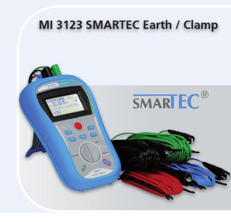 Metrel MI 3123 SMARTEC EARTH / CLAMP
