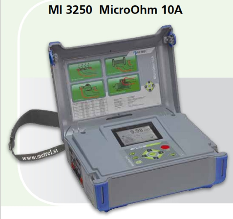 Metrel MI 3250 MICROOHM 10A