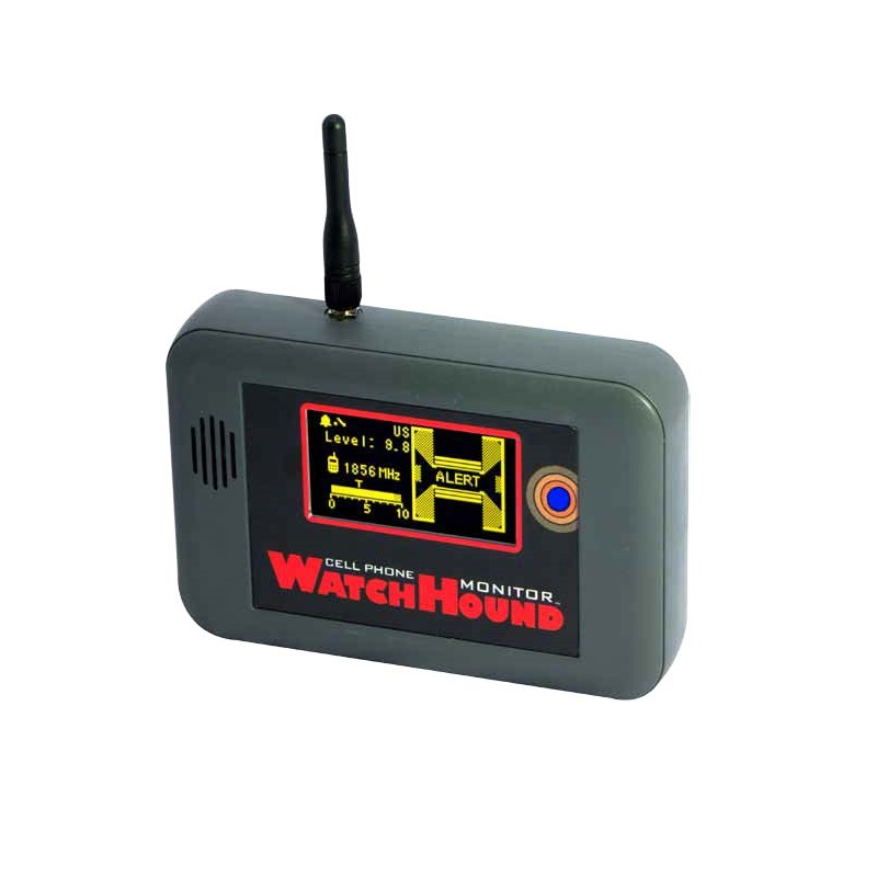 WatchHound Cell Phone Detection Monitor for Wireless Border Security