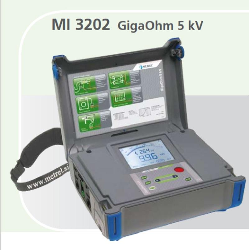Metrel MI 3202 GIGAOHM 5 KV