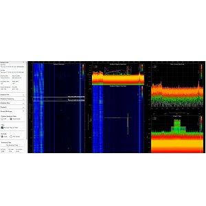 CRFS Wideband RF spectrum streaming, recording and analysis