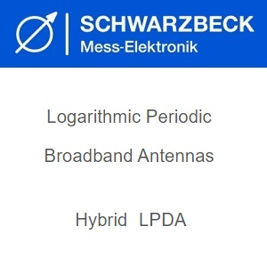 Schwarzbeck Биконични логаритмични периодични антени (хибридни)