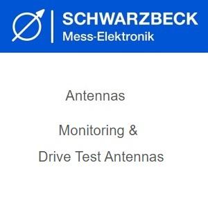 Schwarzbeck Антени за мониторинг и Drive Test