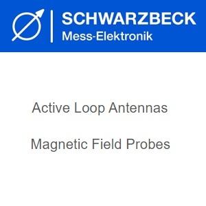 Schwarzbeck Антени с активна верига / сонди с магнитно поле