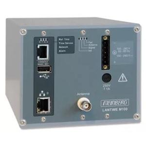 Meinberg LANTIME M100: NTP сървър за време с вътрешен референтен часовник за инсталации на DIN шина