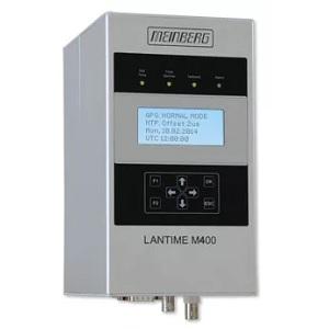 Meinberg LANTIME M400: NTP сървър за монтиране на релса с референтен приемник