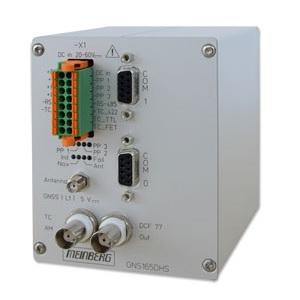 Meinberg GNS165: GNSS сателитен приемник с вграден генератор на времеви код (DIN монтажна шина)