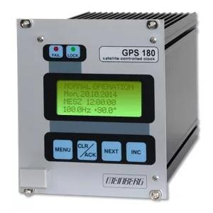 Meinberg GPS180: GPS сателитен приемник с LC-дисплей и контролни елементи (Eurocard)