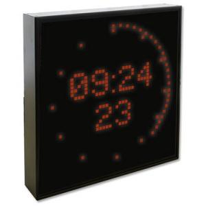 Meinberg DU35S: LED голям дисплей DU35S (дата / час с показване на секунди като пунктиран кръг)